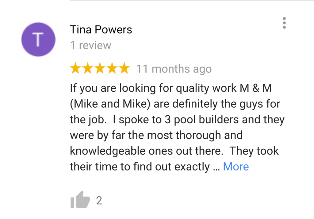 Reviews and Testimonials | Your Pool Builder