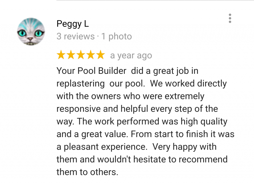 Reviews & Testimonials Your Pool Builder of Texas