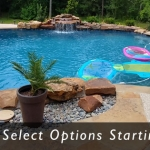 swimming pool construction prices, cost install gunite