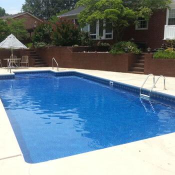swimming pool construction process vinyl liner pool